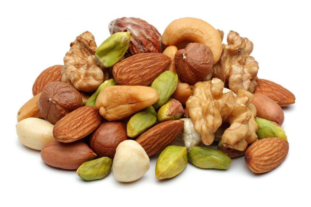Орехи при снижении веса