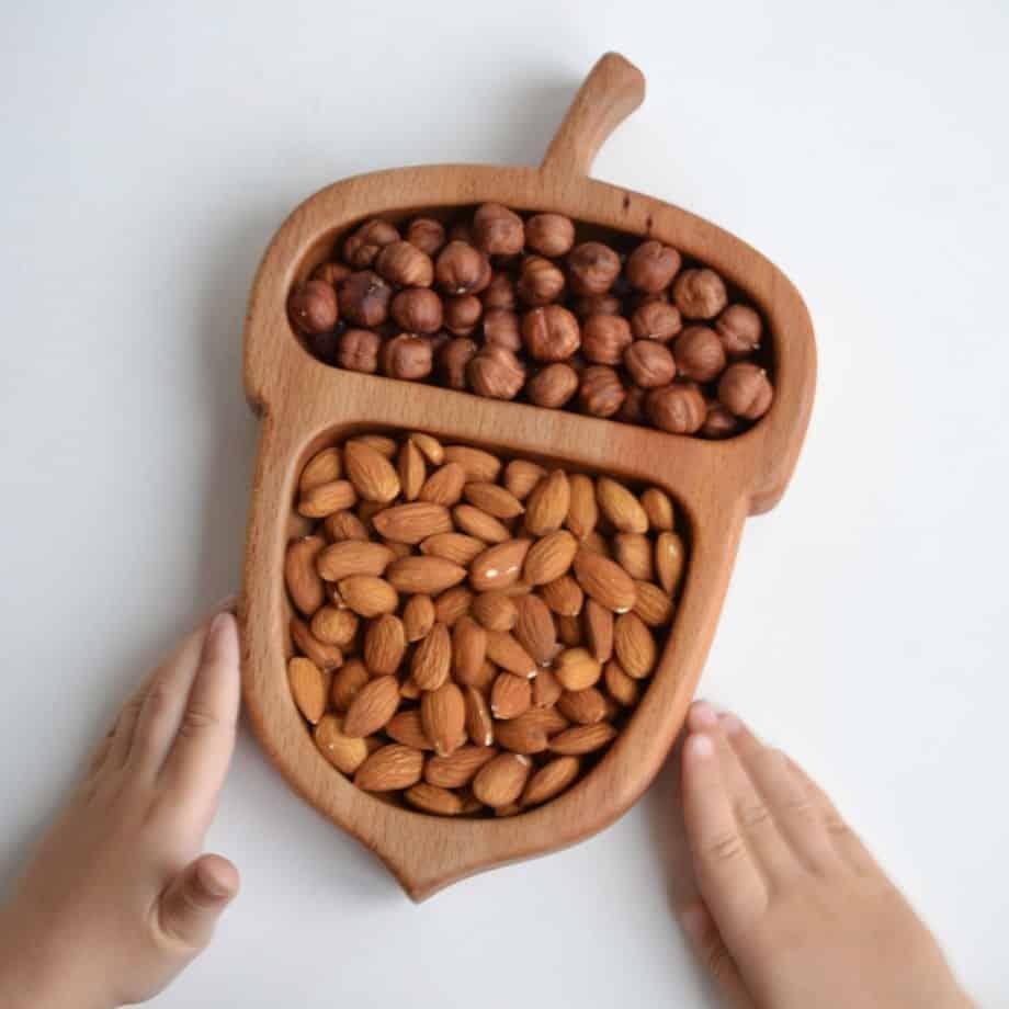 Ввод в рацион орехи
