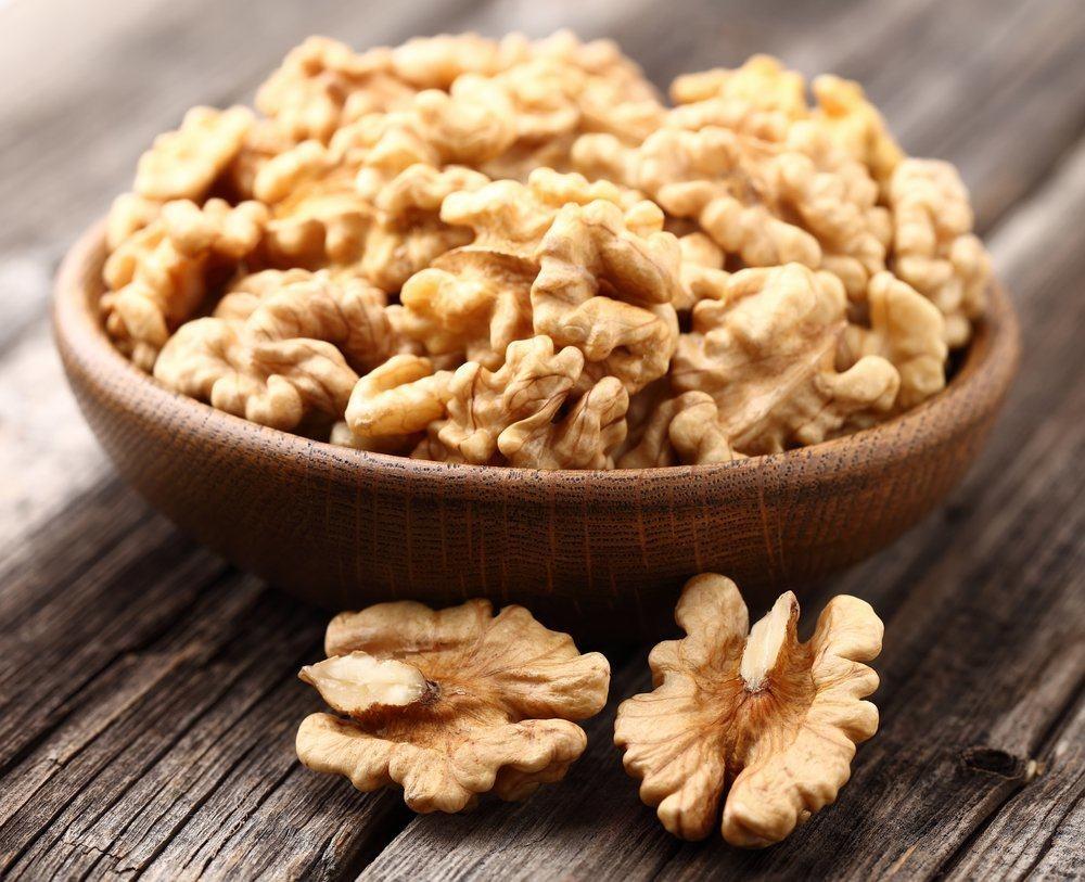 Гликемический индекс и химический состав грецкого ореха