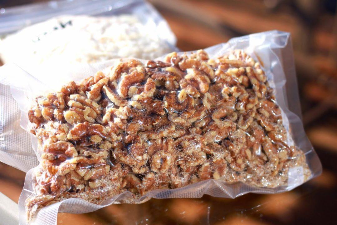 Вакуумный пакет для хранения грецкого ореха