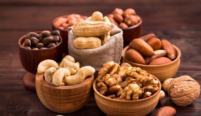 Орехи с кулинарными запахами