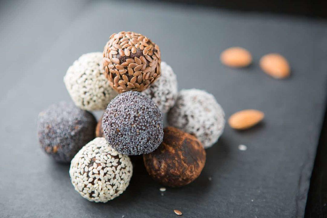 Полезные конфеты с орехами