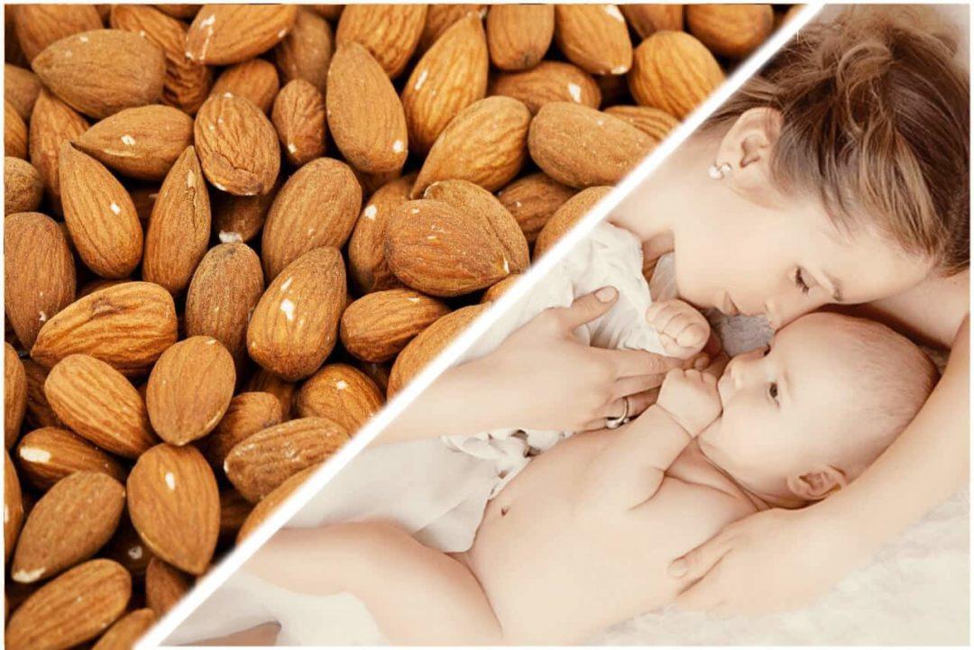 Миндаль для беременных и кормящих