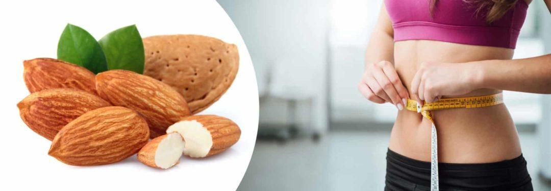 Миндаль при похудении