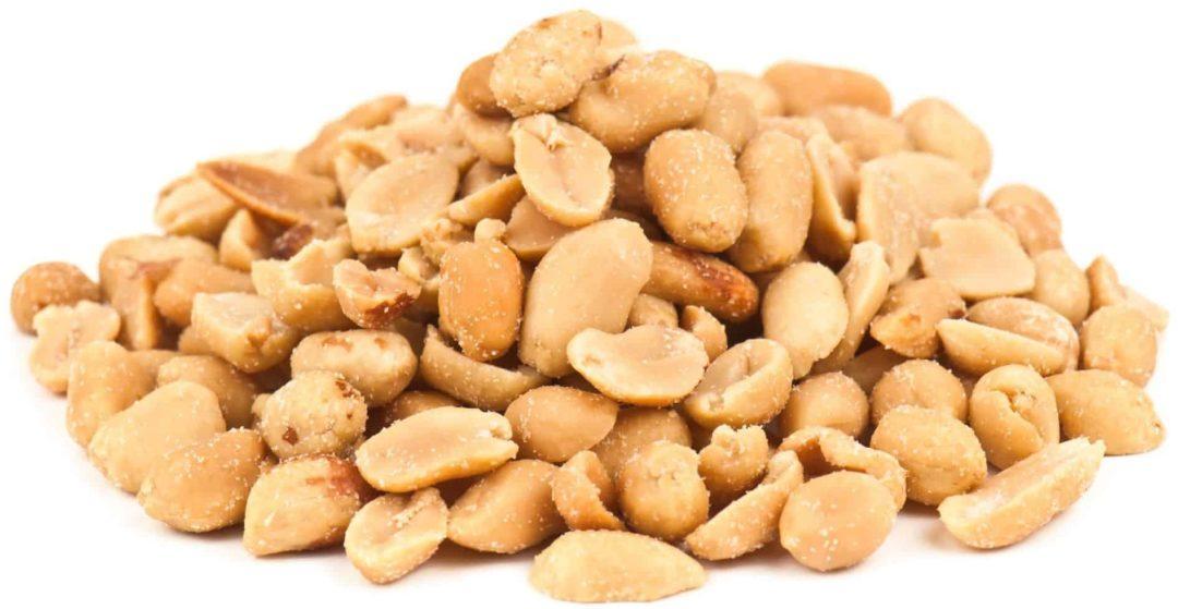 Солёный жареный арахис