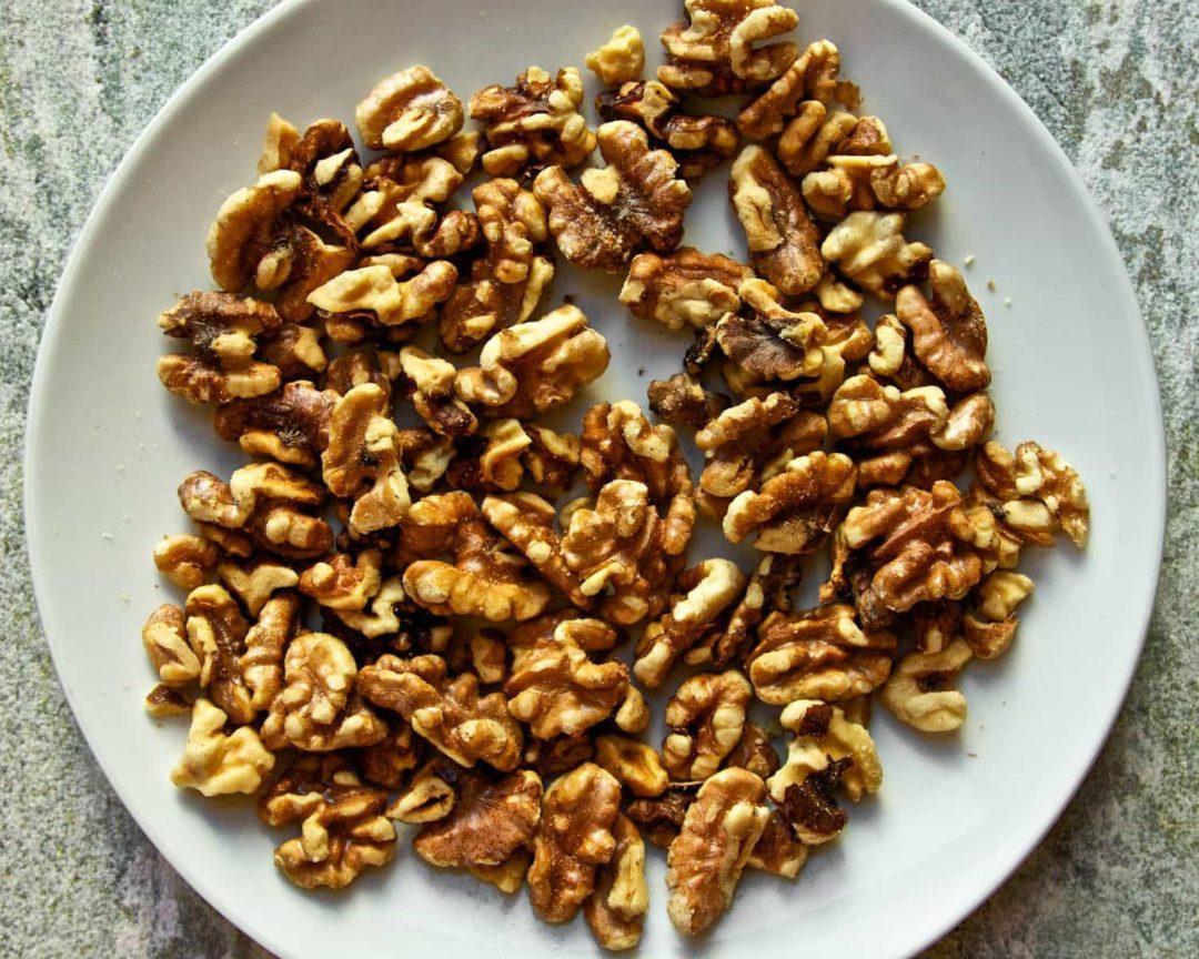 Грецкие орехи в микроволновой печи