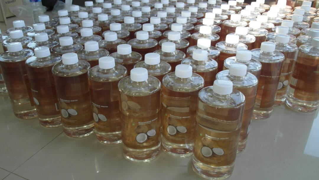 Тюбики кокосового масла
