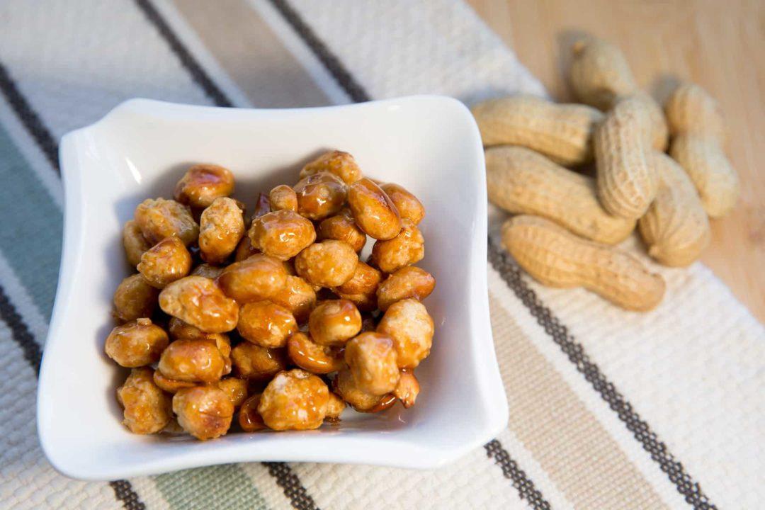 Карамелизованный арахис