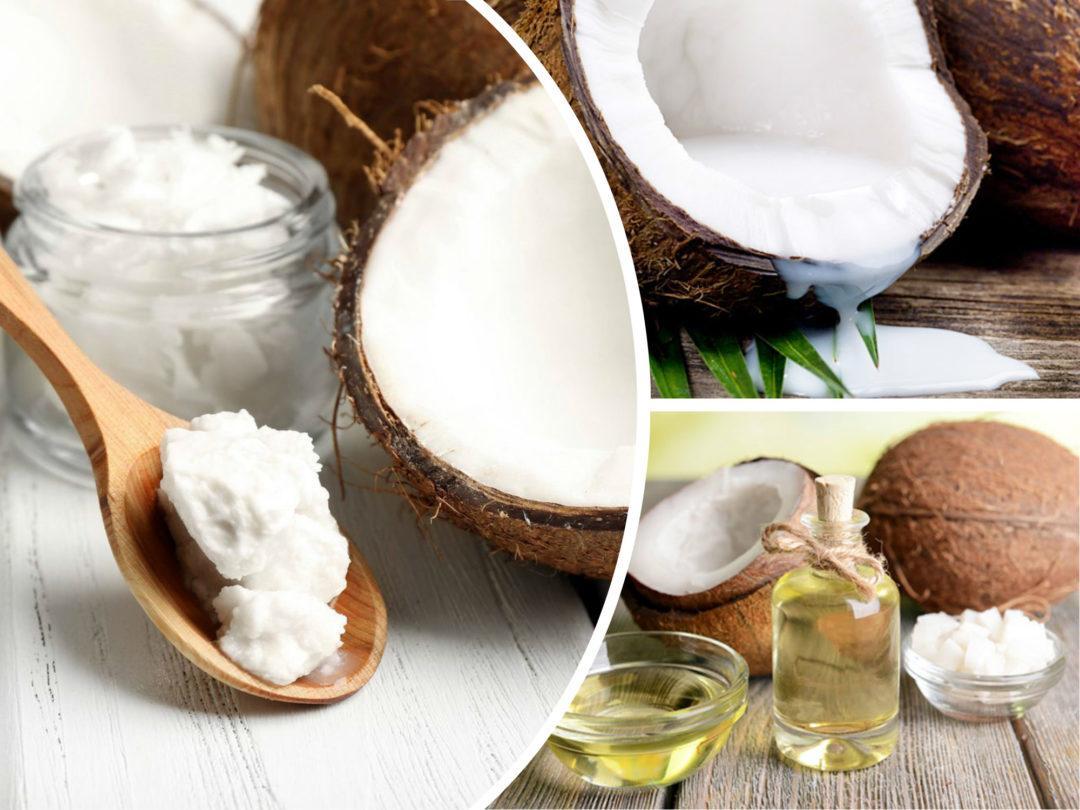 Коллаж - кокосы