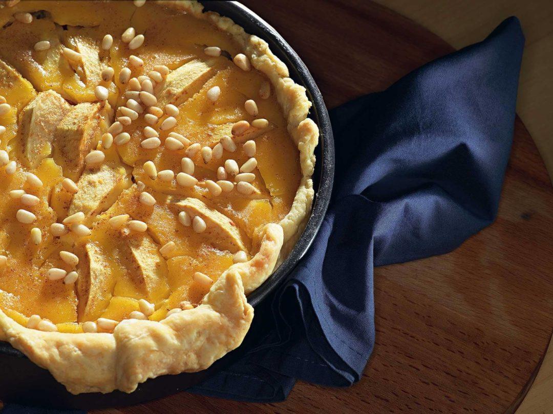 Десерт с кедровым орехом