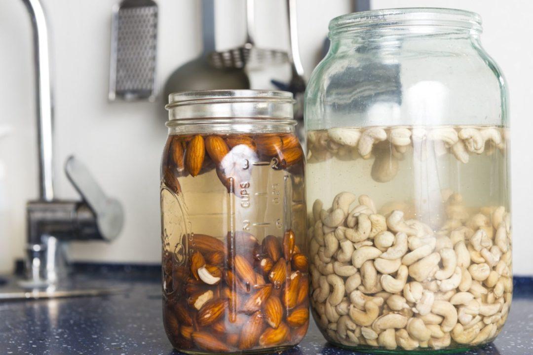 Подготовка орехов к употреблению