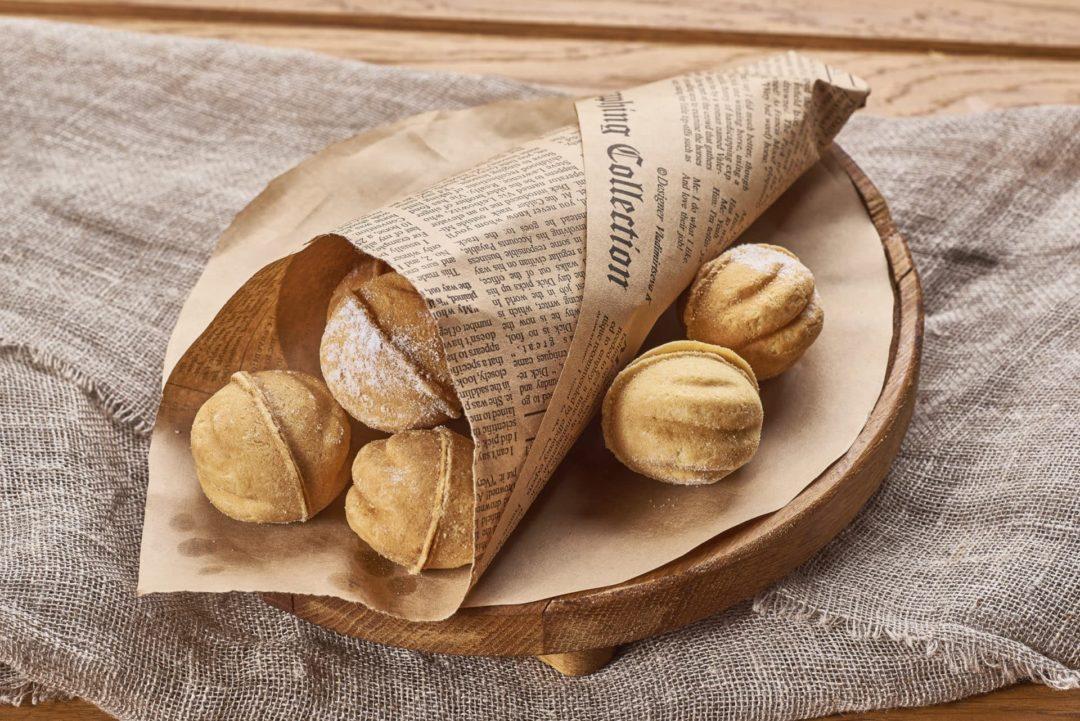 Орешки со сгущенкой в бумаге