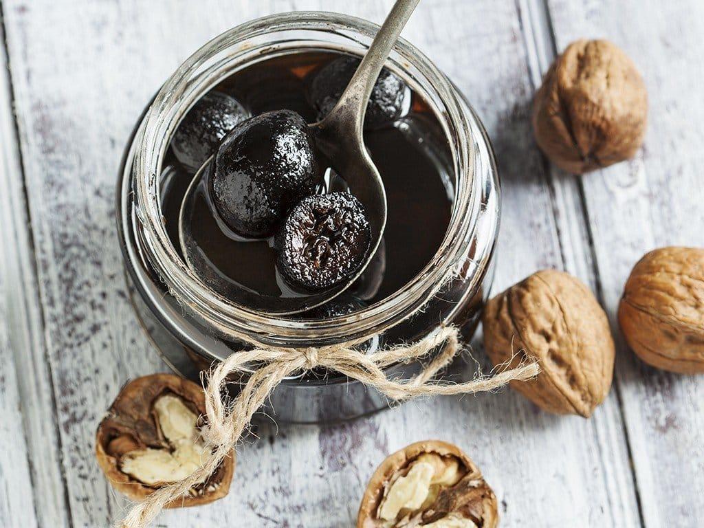Варенье из грецких орехов: рецепты, польза и вред, отзывы